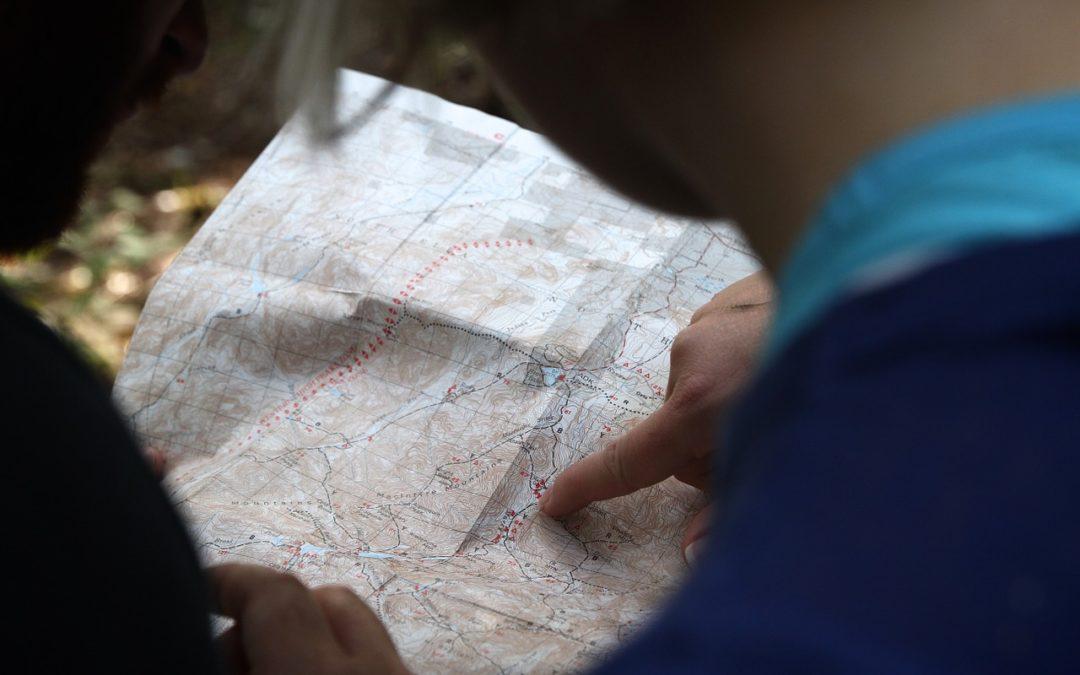cartes des randonnées