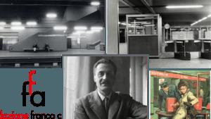 """""""LA LIGNE ROUGE"""" A LA FONDATION ALBINI ET APERITIVO @ Fondation Franco Albini"""