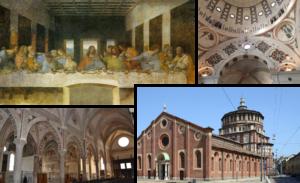 LA CÈNE DE LEONARD DE VINCI @ Eglise Santa Maria delle Grazie