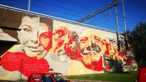 Histoire de l'art : Promenade dans le quartier Ortica @ Station du bus 54