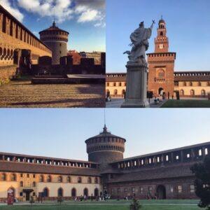 Château Sforzesco et découverte du Parc Sempione @ Piazza Castello Milan