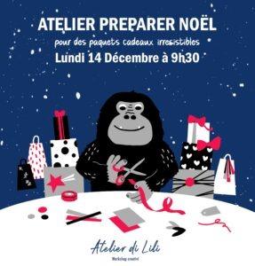 Atelier di Lili Préparer Noël Milan Accueil