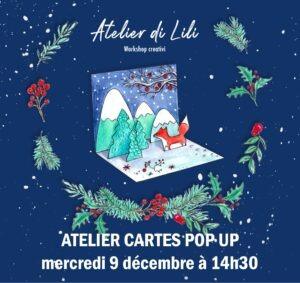 Atelier di Lili Pop Up Milan Accueil