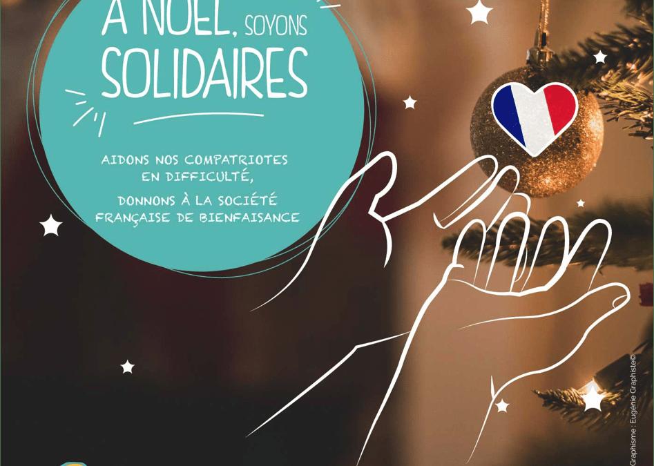 À Noël, soyons solidaires avec la Société Française de Bienfaisance Milan