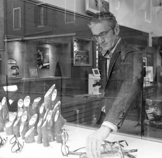 Portraits à Milan : Olivier, 'l'opticien français de Milan'